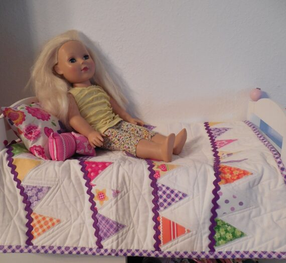 Easy American Girl Doll Quilt Take Two