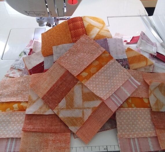 Good Fortune Mystery Quilt Update Week 7