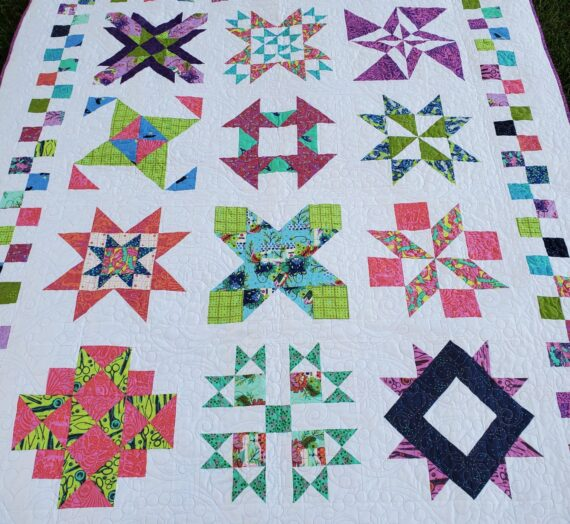 Quarantine Quilt Challenge – Finishing Directions